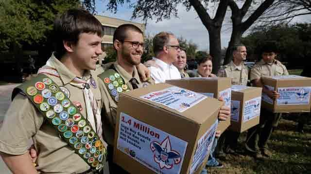 Religious divide over Boy Scouts policy