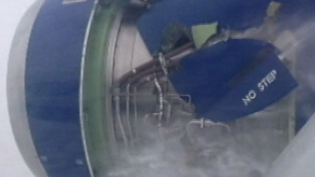 British Airways Plane on Fire in Flight