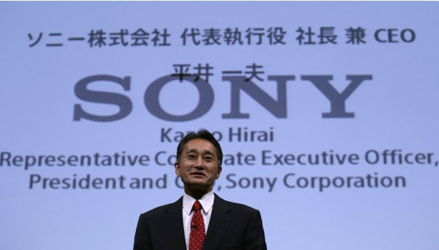 Sony Corp's President and CEO Hirai attends Sony Corporate Strategy Meeting at the company's headquarters in Tokyo