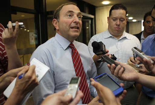 NHL, NHLPA agree still sufficient time for talks