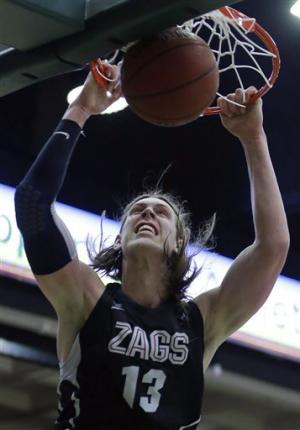 No. 5 Gonzaga holds off San Francisco 71-61
