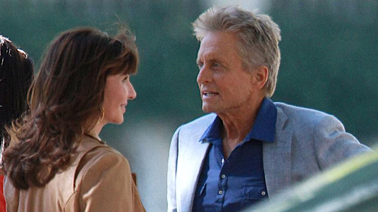 Spotted on Set, Michael Douglas and Mary Steenburgen