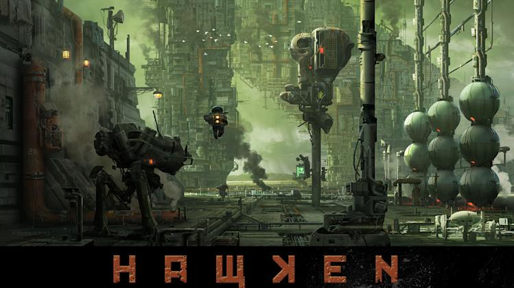 Fight for the future in 'Hawken'