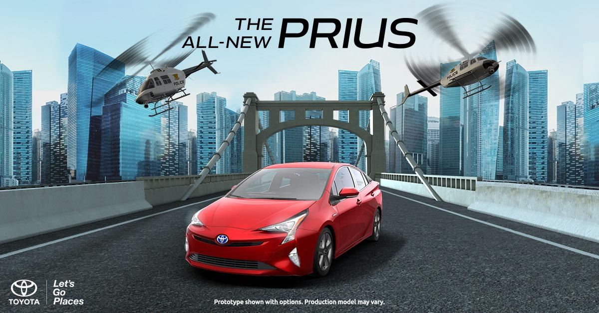 The all-new 2016 Toyota Prius defies convention.