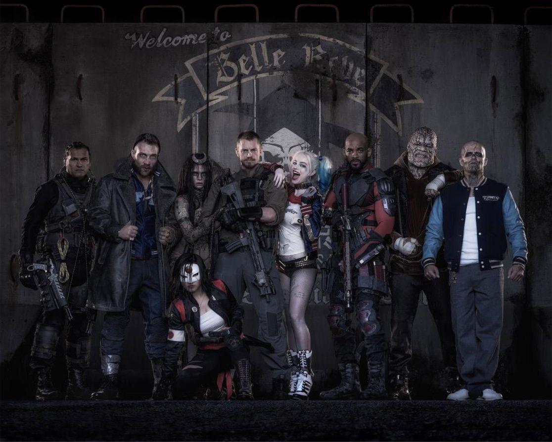 'Suicide Squad' suits up for the first costumed cast photo