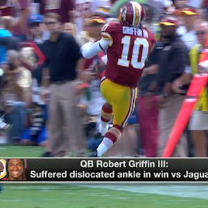 Robert Griffin III injury update