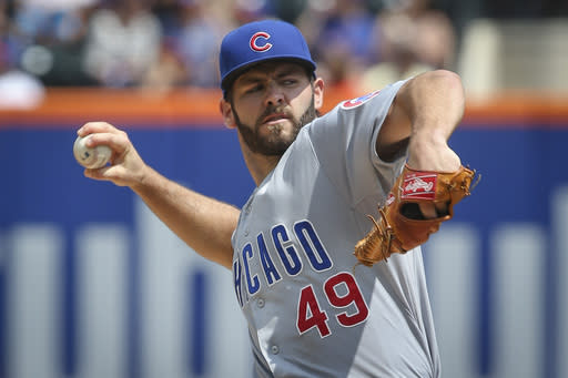 Cubs' Arrieta finds right formula for success