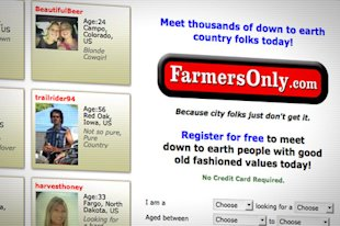 A website for single farmers, ranchers and those who love rural life.