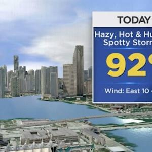 CBSMiami.com Weather @ Your Desk 7/11/14 9 AM