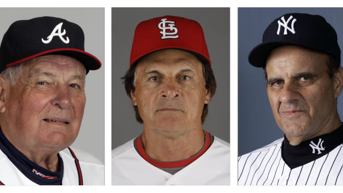 Torre, La Russa, Cox on Hall of Fame ballot