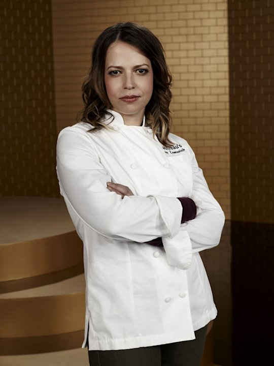 Sue Zemanick competes in &quot;Top Chef Masters.&quot; 