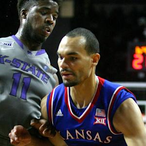 Kansas' Perry Ellis Gets It Started Early