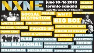 NXNE Presents Social Distortion / Big Boi Plus F**ked Up / Coeur De Pirate / Smif N ' Wessun / WHY? / The Soft Moon / Peace / White Lung / Diana / Majical Cloudz / Nu Sensae / Destruction Unit and More