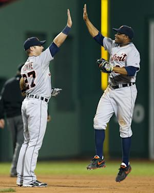 Surging Tigers beat Red Sox 6-1
