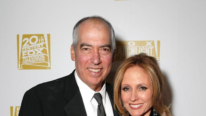 Chairman of Twentieth Century Fox Television Gary Newman, left, and Chairman of Twentieth Century Fox Television Dana Walden attend the Fox Golden Globes Party on Sunday, January 13, 2013, in Beverly Hills, Calif. (Photo by Todd Williamson/Invision for Fox Searchlight/AP Images)