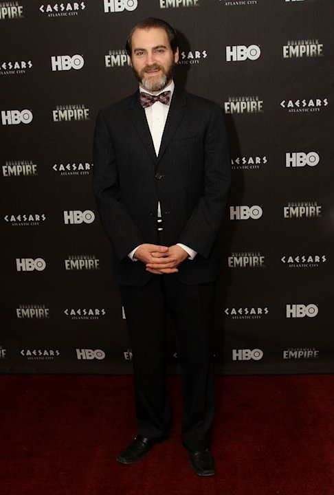 Michael Stuhlbarg attends HBO's &quot;Boardwalk Empire&quot; Series Premiere party in AC at Caesars Atlantic City on September 16, 2010, in Atlantic City, New Jersey. 