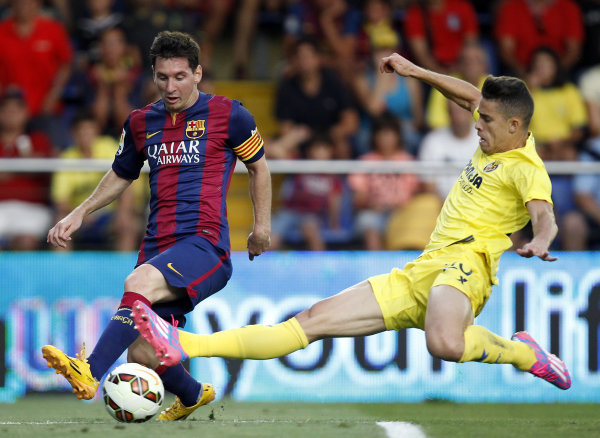 Messi injures leg muscle in Barcelona win