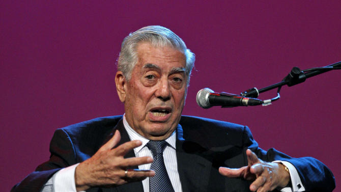 Vargas Llosa says he tried '50 Shades' fiction