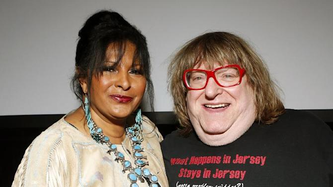 Pam Grier and Bruce Vilanch are seen at the Visionary Awards benefiting the Entertainment AIDS Alliance, on Wednesday, Nov. 14, 2012 in Los Angeles. (Photo by Todd Williamson/Invision for the Entertainment AIDS Alliance/AP Images)