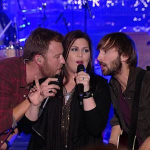 Live On Letterman - Lady Antebellum: Wake Me Up