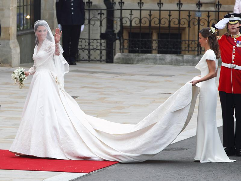 Princess Kate and Sister Pippa Middleton Made an Adorable Pair of Bridesmaids in 1991 Wedding