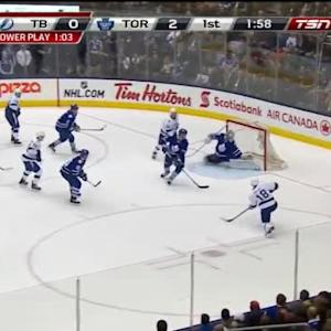 Ryan Callahan Goal on James Reimer (18:04/1st)