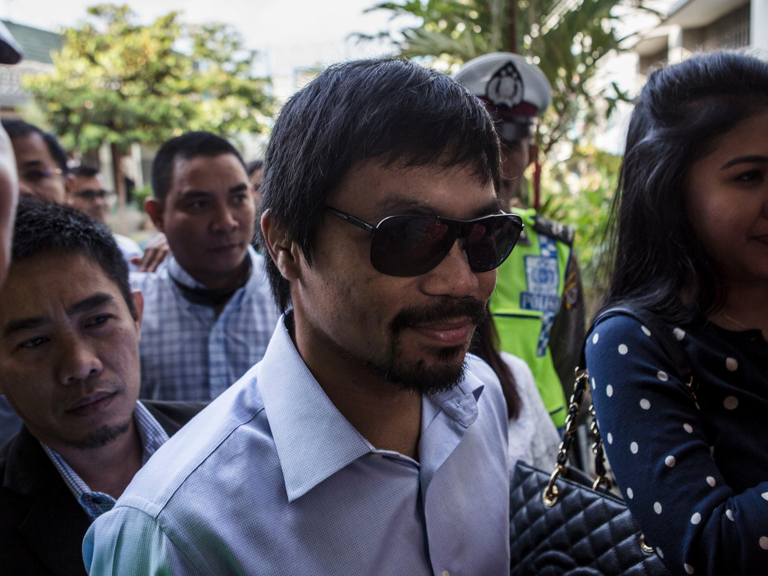 Any hopes for a Floyd Mayweather-Manny Pacquiao rematch just took another huge blow