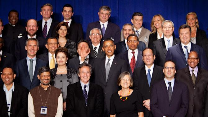 Obama Meets With World Leaders At The United Nations