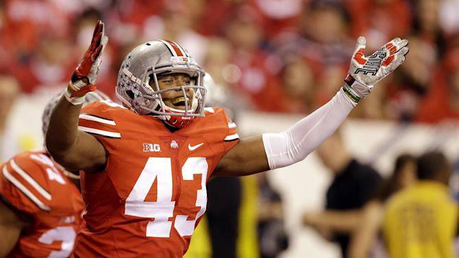 Determination and peanut butter fuel Ohio State LB Lee