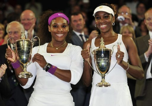 Williams sisters on Saturday teamed up to win a fifth Wimbledon doubles title
