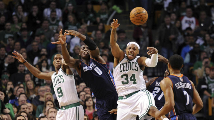 NBA: Charlotte Bobcats at Boston Celtics