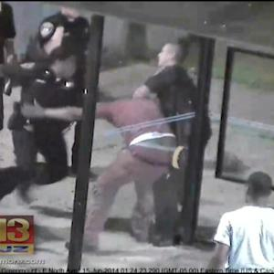Baltimore Cop Charged In Bus Stop Beating Caught On Camera