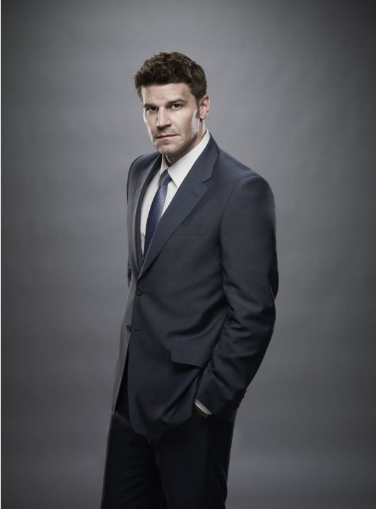 "David Boreanaz stars as FBI Special Agent Seeley Booth in ""Bones."""