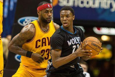 2015 NBA scores: Kevin Love beats Timberwolves, but Andrew Wiggins steals the show