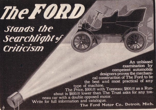 1904 Ford Model A on this date
