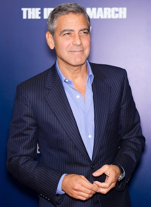 The ides of March 2011 NY Premiere George Clooney
