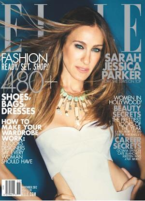 Sarah Jessica Parker on the cover of ELLE magazine's November 2012 issue -- ELLE Magazine
