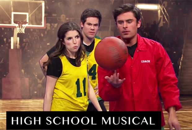 Zac Efron Plays High School Musical Coach in Late Late Show Video — Watch