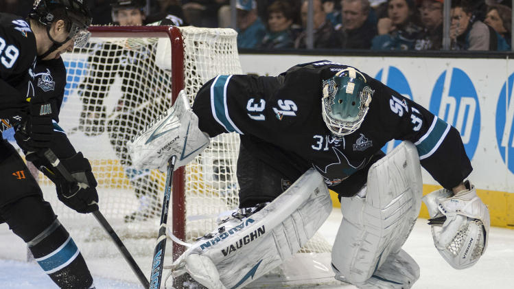 NHL: Edmonton Oilers at San Jose Sharks