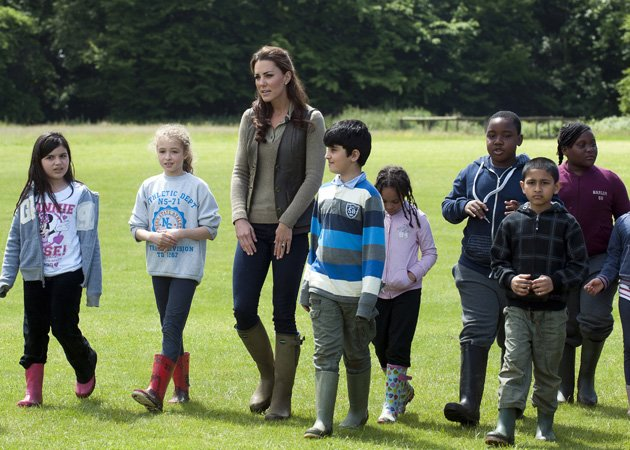 Kate Middleton, casual clothes