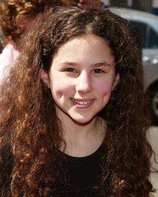 Hallie Kate Eisenberg at the New York premiere of Miramax's Ella Enchanted