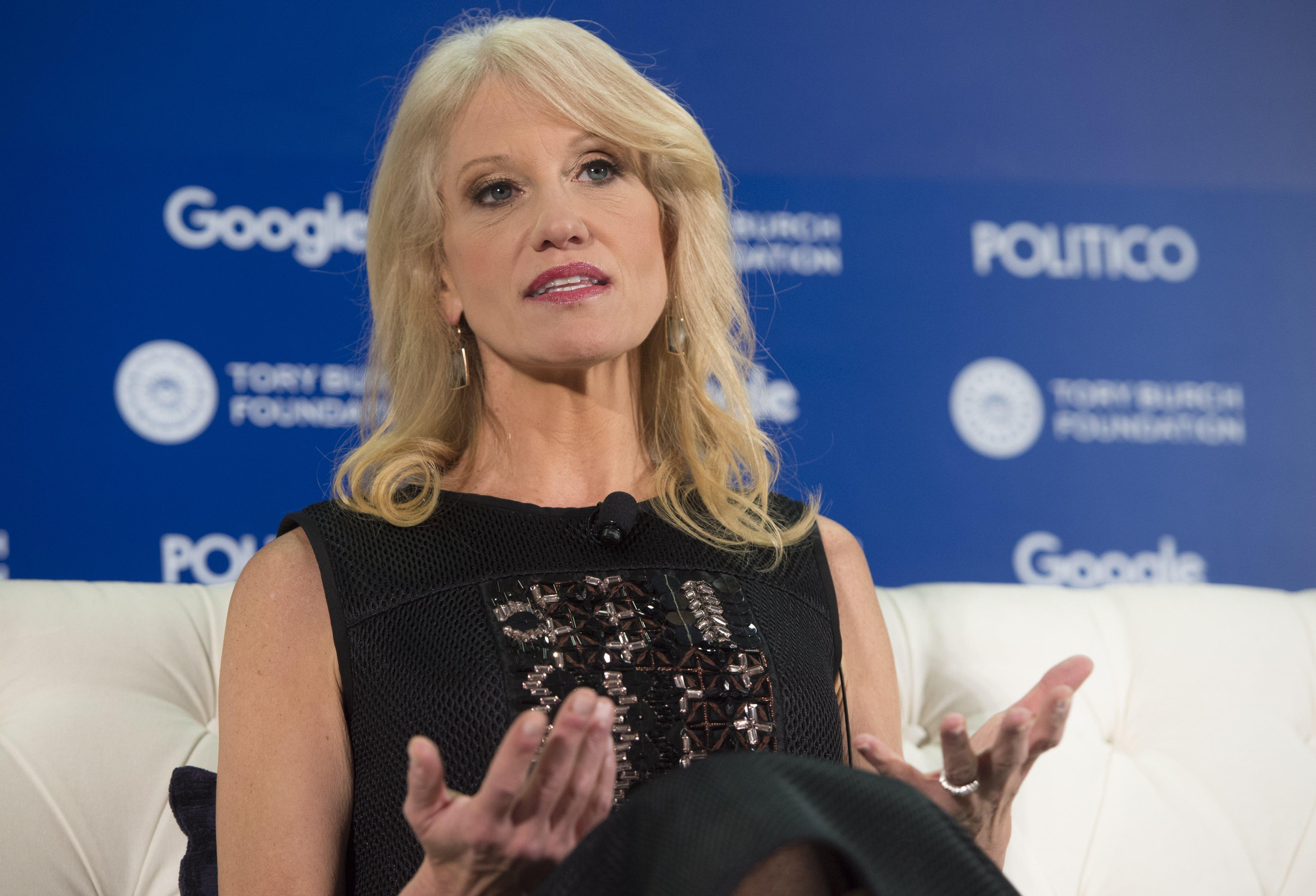 Kellyanne Conway Says Donald Trump Has Right to Stay on 'Celebrity Apprentice' in His 'Spare Time'
