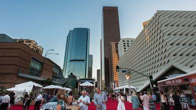 Gossip, Action, and Revelry at Los Angeles Food & Wine This Past Weekend