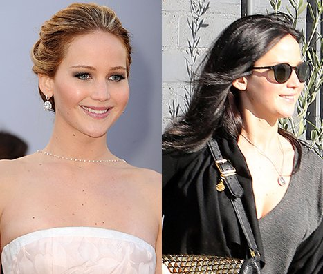 Jennifer Lawrence Goes Brunette&nbsp;&hellip;