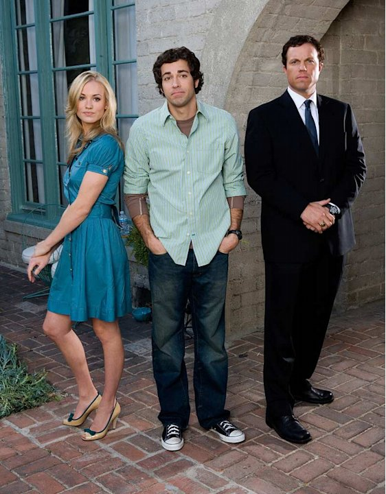 The new NBC show Chuck is No. 8 on the Yahoo! TV Buzz list. Zach Levi rocks as the self-proclaimed nerd who accidentally implants the government's most well-kept secrets into his subconscious by viewi