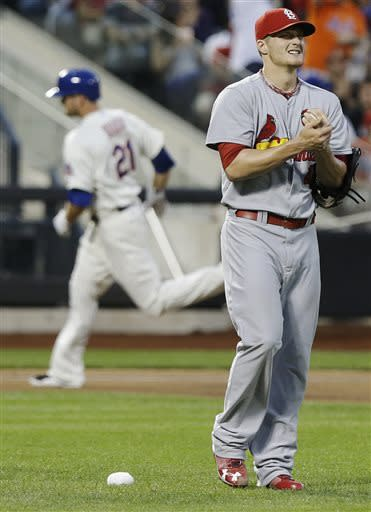 Dillon Gee shuts down Cardinals, Mets win 5-1