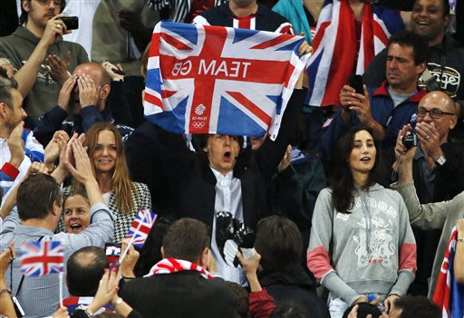 Britain makes history on Olympic 'Super Saturday'