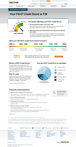 Discover Expands Rollout of Free FICO® Scores to Consumer Credit Cardmembers
