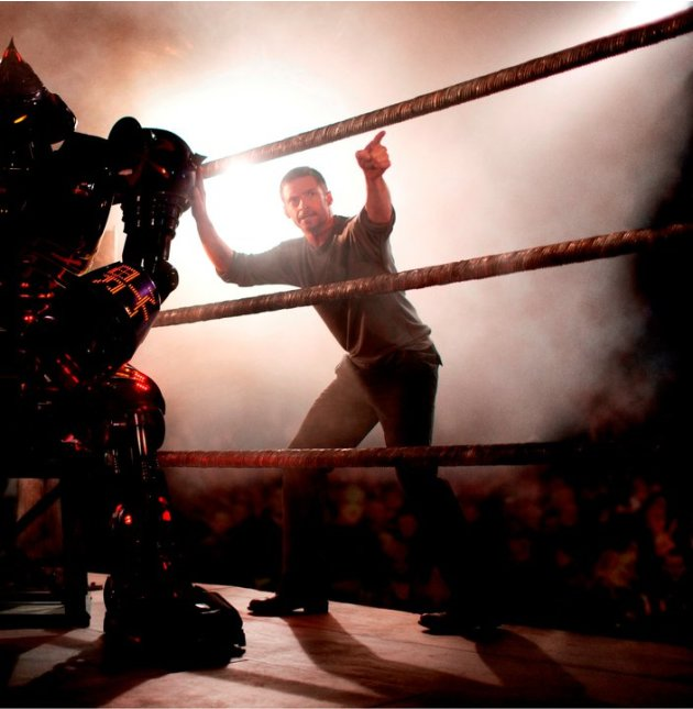 Stills from 'Real Steel'