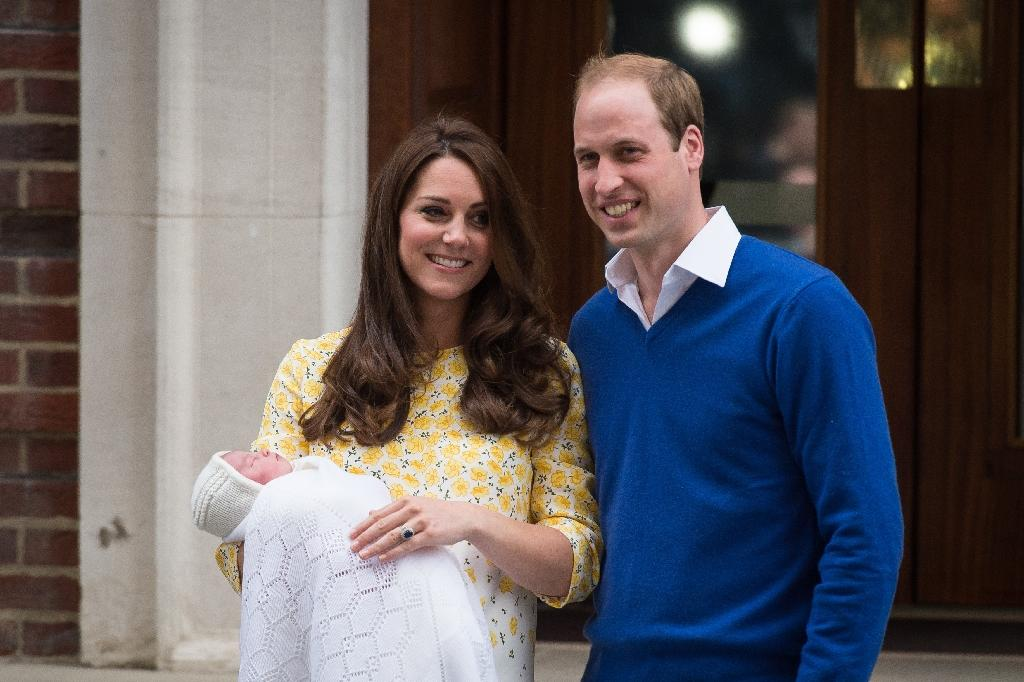 William and Kate back home with Britain's new princess
